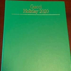Gucci Holiday Catalog/Address Book